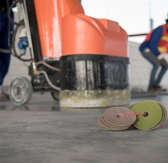 concrete polishing Burlington